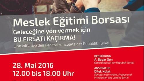 Die zweite Deutsch-Türkische Ausbildungsmesse steht vor der Tür!