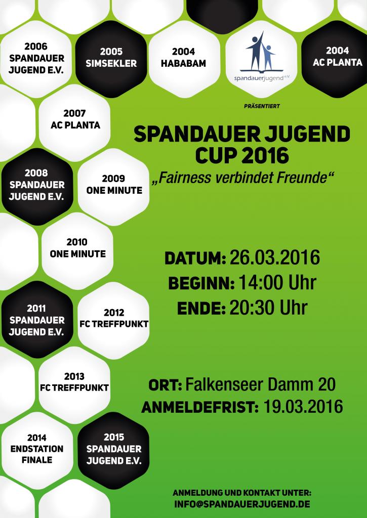 Spandauer Jugend Cup 2016